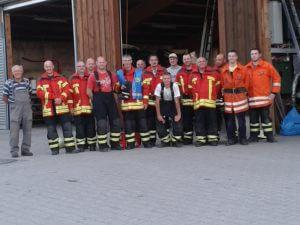 Die Mannschaft am Standort Pfinzweiler im Jahr 2015