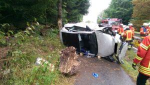 Personenrettung bei Verkehrsunfall